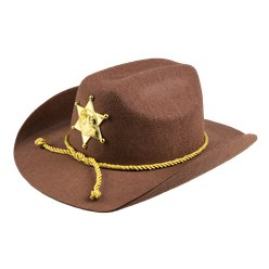 Fancy Dress Accessories Sheriff Hat