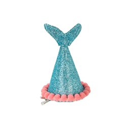 Hats and Headwear Mermaid Mini Clip On Hats