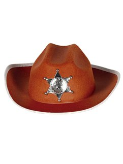 Child's Brown Sheriff Hat
