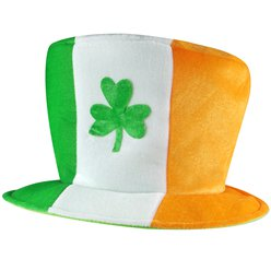 Irish Flag Shamrock Hat
