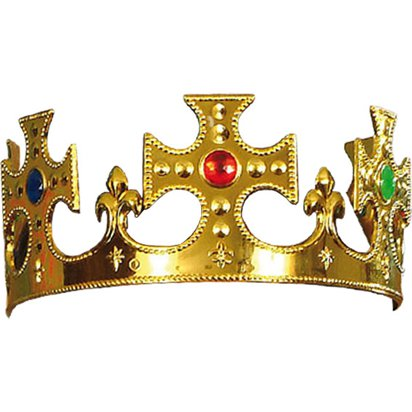 Kings Crown - Fancy Dress Costume Accessories front