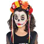 Day of the Dead Headpiece - Floral Band