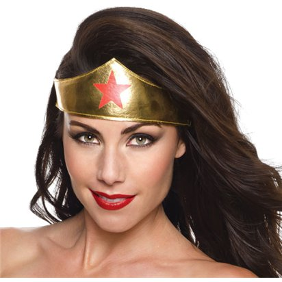 Wonder Woman Tiara - Superhero Fancy Dress Accessories front