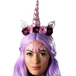 Flower Unicorn Headband