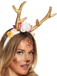 Pretty Reindeer Headband
