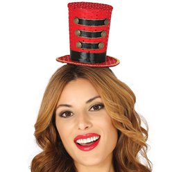 Mini Ringmaster Top Hat Headband