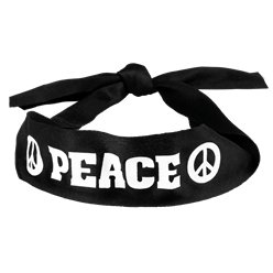 Hippie Peace Headband