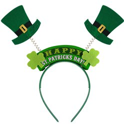 Happy St Patrick's Day Headband