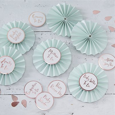 Hello World Rose Gold Badge Kit - 8cm