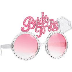 """Bride to Be"" Novelty Glasses"