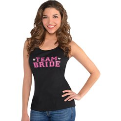 'Team Bride' Vest Top - Adult Costume
