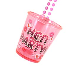 Hen Party Shot Glass Necklace - 90cm