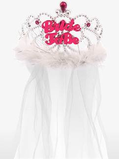 'Bride to Be' Tiara with Veil