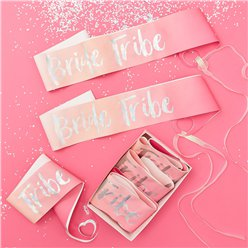 Iridescent Bride Tribe Sashes - 77cm