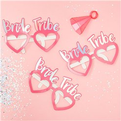 Iridescent Bride Tribe Hen Party Glasses