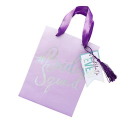Bride Squad Lilac Party Bags