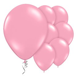 "Pink Prolite Valved Balloons - 9"" Latex"