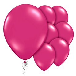 "Magenta Prolite Valved Balloons - 9"" Latex"