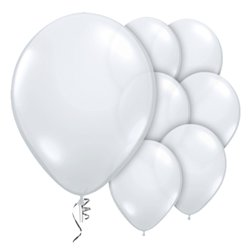 "Diamond Clear Prolite Valved Balloons - 9"" Latex"