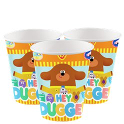 Hey Duggee Paper Cups - 260ml