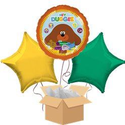 Hey Duggee Balloon Bouquet - Delivered Inflated