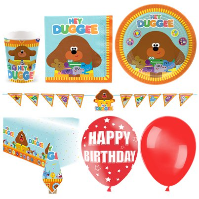 Hey Duggee Deluxe Party Pack