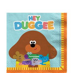 Hey Duggee Lunch Napkins - 33m