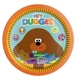 Hey Duggee Paper Plates - 23cm