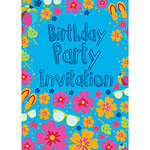 Birthday Invitation cards Summer Splash - Medium