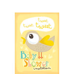Baby Shower Invitation cards Tweet Tweet - Small