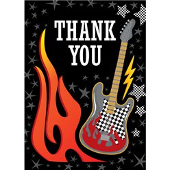 Thank you cards - Rock On - Medium