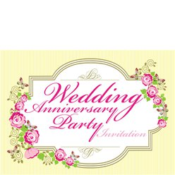 Invitation cards - Wedding Anniversary - Small