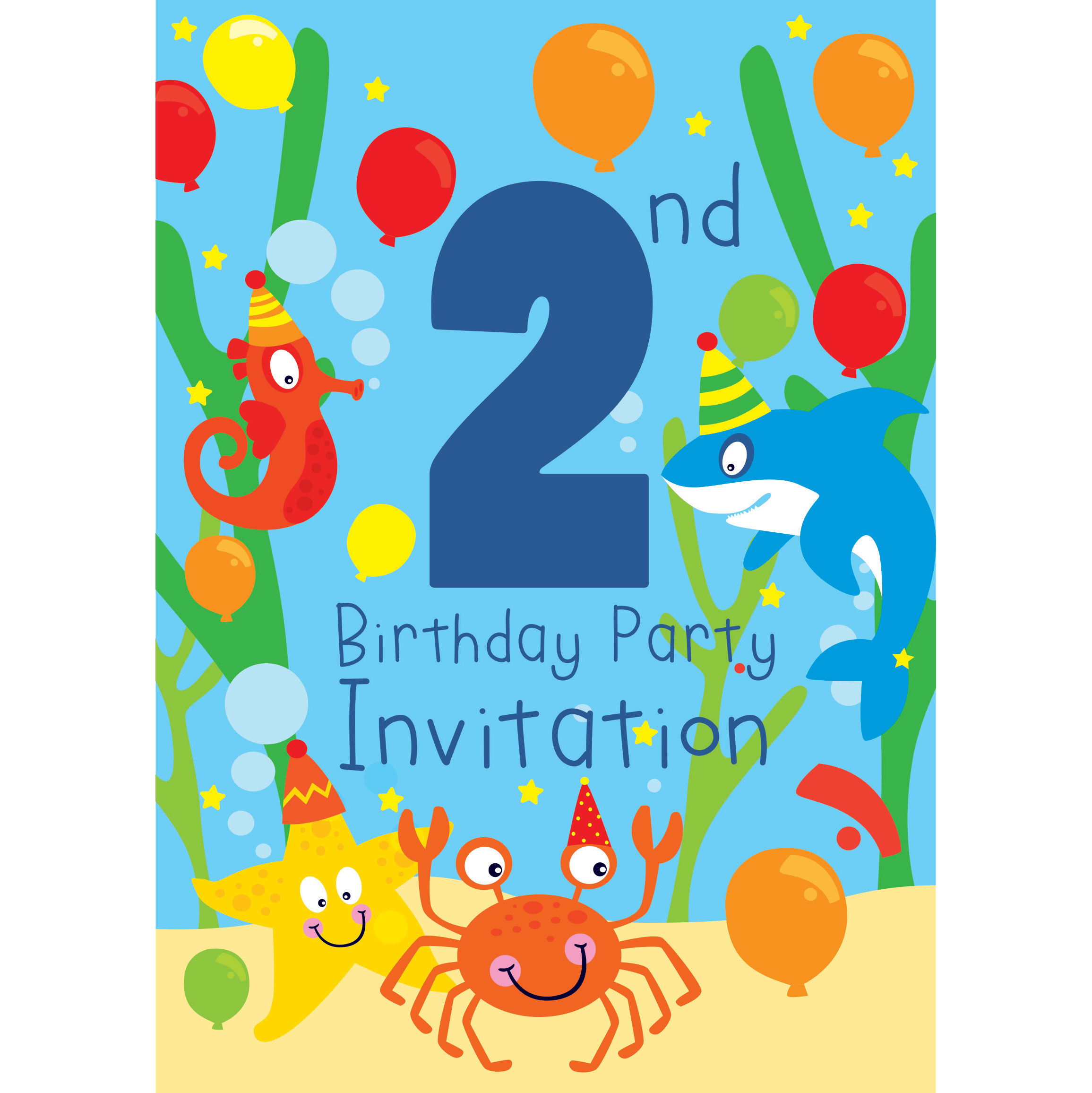 2nd Birthday Party Supplies | Party Delights
