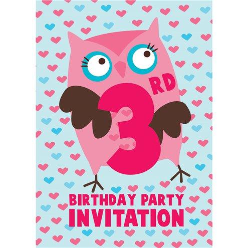 3rd birthday party invites medium party delights 3rd birthday party invites medium filmwisefo