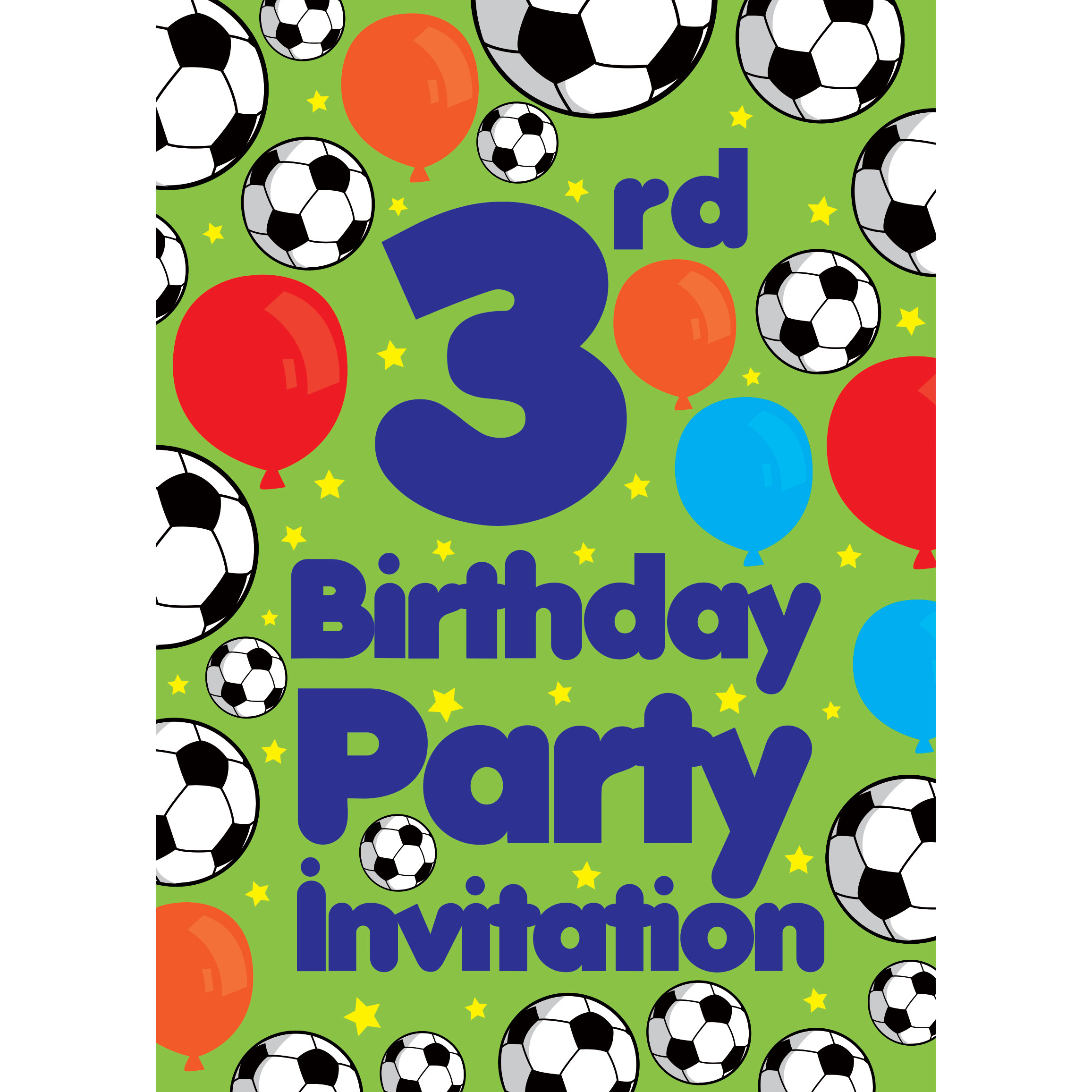 3rd birthday party supplies party delights 3rd birthday party invites medium filmwisefo