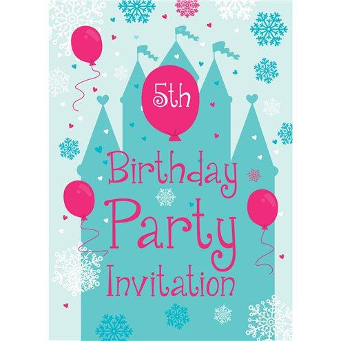 5th Birthday Party Invites