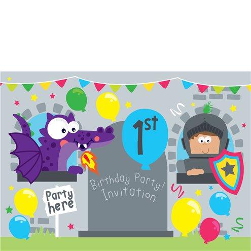 1st Birthday Party Invites