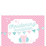 Christening Invites - Small