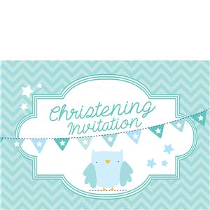 Christening Invites - Medium