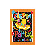 Fiesta Invititation cards - Small