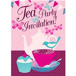 Tea Party Invitation Cards - Medium