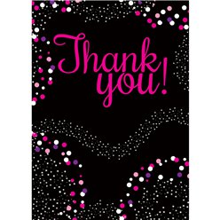 Pink Thank You Cards - Medium