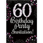 60th birthday invitations party delights