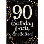90th birthday invitations party delights