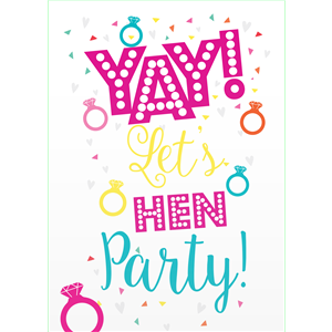 Hen Party Invites - Medium