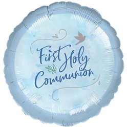 "First Communion Balloon - 18"" Foil"