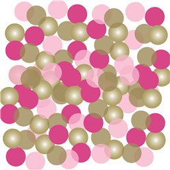 Pink 1st Communion Confetti - 14g Bag