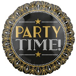"Hollywood Party Time Balloon - 18"" Foil Balloon"