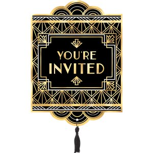 Hollywood Party Luxury Invitations