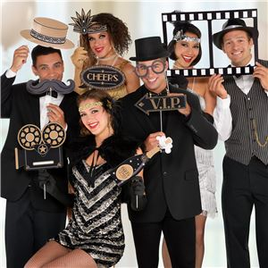 Hollywood Photo Booth Props Kit